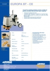 2-head floor grinding-polishing machine suitable for granite, porcelain tiles and hard stone in general.