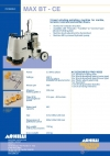 -head grinding-polishing machine for marble, terrazzo, concrete (and similar) floors.