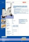 Grinding-polishing machine for marble, terrazzo, concrete (and similar) floors. Suitable for granite and hard stone as well, only using special diamond abrasives.