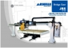 Automatic sawing machine with mobile bridge