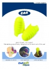 GRIP TIGHT, FIT RIGHT The earplug specifically designed not to back out of the ear