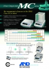 LIMITED-MC Series of Mass Comparators (Precision Balances with Extended Resolution)