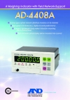 Weighing Indicator with Field Network-support/AD-4408A