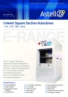 E Range Square Section Autoclaves (Manual Vertically Sliding Door)