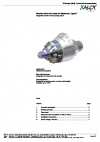 Machine shut-off nozzle for Elastomer; Type-E Integrated actuator and tempering system