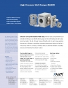 Xaloy-High-pressure extrusion pumps