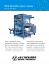 Model 70 Partition Opener / Inserter For Multi-Celled Partitions