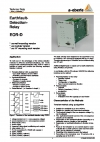 Earthfault Detection Relay  EOR-D