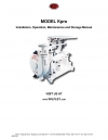 MODEL Kpro Installation, Operation, Maintenance and Storage Manual