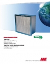 VariCel® High and Medium Efficiency Extended Surface Supported Pleated Filters