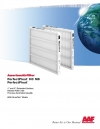"""PerfectPleat ® HC M8 PerfectPleat ® 1"""" and 2"""" Extended Surface, Pleated Filter with Process-Controlled Quality"""