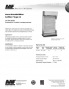 AirMat® Type A Air Filter Media Recommended for ink collection in newspaper pressrooms