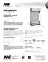 AirMat® Type R Air Filter Media Lint collection media for use in Auto-AirMat ® automatic dry-type air filters