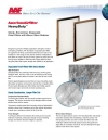 HeavyDutyTM Sturdy, Economical, Disposable Panel Filters with Woven Glass Retainer
