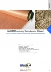 100dB EMC screening fleece Aaronia X-Dream® Optimal for rf Shielding-Application of homes, offices, laboratories and manufacturing