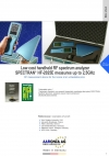 Low cost handheld RF spectrum analyzer SPECTRAN® HF-2025E measures up to 2,5GHz