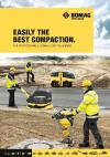 EASILY THE BEST COMPACTION. FOR PROFESSIONALS: BOMAG LIGHT EQUIPMENT.