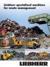 Liebherr specialized machines for waste management