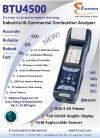 BTU4500 Industrial and Commercial Combustion Analyzer