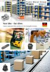 Custom engineered drive solutions for the intralogistics industry