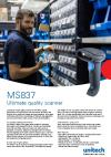 MS837 Ultimate quality scanner